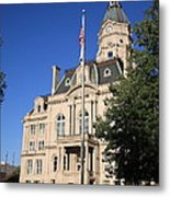 Terre Haute Indiana - Courthouse Metal Print