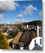 Thatched Cottages Near Dunmore Strand Metal Print