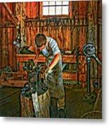 The Apprentice 2 Metal Print