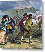 The Battle Of Concord, 1775 Metal Print
