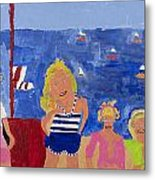 The Beach Girls Metal Print
