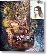 The Beast Of Babylon Metal Print