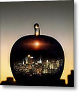 The Big Apple Metal Print by Etti PALITZ