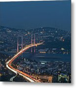 The Bosphorus Bridge  Metal Print