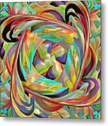 The Braid Metal Print by Deborah Benoit