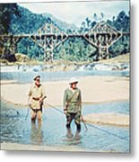 The Bridge On The River Kwai Metal Print by Silver Screen