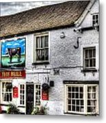 The Bull Pub Theydon Bois Essex Metal Print
