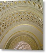 The Ceiling Of Union Station Metal Print