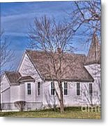 The Church At The Site Of The Old Confederate Soldiers Home Metal Print
