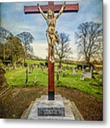 The Cross Metal Print by Adrian Evans