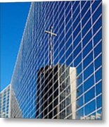 The Crystal Cathedral Metal Print
