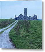 The Deserted Abbey Metal Print