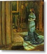 The Eve Of St Agnes Metal Print