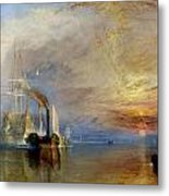 The Fighting Temeraire Metal Print