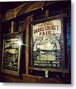 The Great Darke County Fair Metal Print