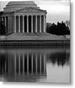 The Jefferson Memorial Metal Print by Cora Wandel