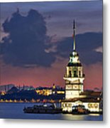 The Maiden's Tower Metal Print