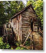 The Mill At Cades Cove Metal Print