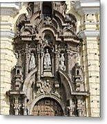 The Monastery Of San Francisco - Lima Peru Metal Print