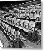 The Old Ballpark Metal Print by Frank Romeo