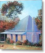 The Old Farm House Metal Print