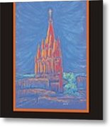 The Parroquia Metal Print by Marcia Meade