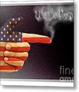 The Right To Bear Arms-3 Metal Print