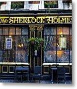 The Sherlock Holmes Pub Metal Print