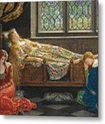 The Sleeping Beauty Metal Print