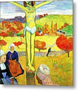 The Yellow Christ Metal Print