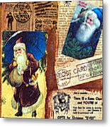 There Is A Santa Claus Metal Print