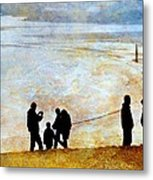They Gather Here Metal Print by Diana Angstadt