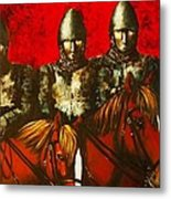 Three Knights Metal Print