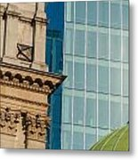 Three Styles Of Architecture Metal Print