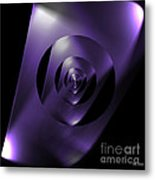 Through The Looking Glass Metal Print by Luther Fine Art