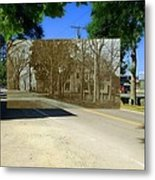 Thursday Thrift Shop And The Commons In Little Compton Rhode Island Metal Print