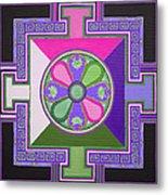 Tibetan Mandala Metal Print