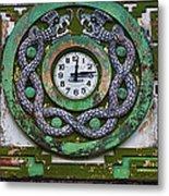 Time Metal Print by Skip Hunt