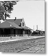 Toppenish Train Station Metal Print