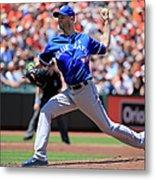 Toronto Blue Jays V Baltimore Orioles Metal Print