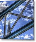 Tower Bridge And The Shard Metal Print