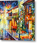 Town From The Dream Metal Print