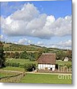 Traditional Cottage Sussex Uk Metal Print