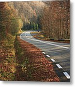 Transfagarasan Road Carpathian Mountains Romania  Metal Print