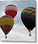 Trio Of Balloons  Metal Print
