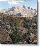 Tsaranoro Mountains Madagascar 1 Metal Print