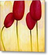 Tulips Are People Xv Metal Print