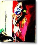 Ugunda Fish Lady Metal Print