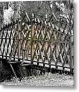 Unique Bridge Metal Print