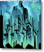 New Yorker October 10th, 2011 Metal Print